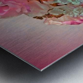 Pink Springtime Morning Metal print
