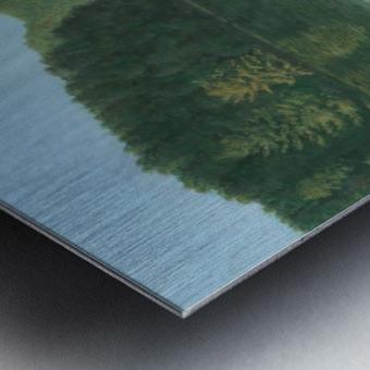 Silver Bridge - Newtown Scenes 18X24 Metal print