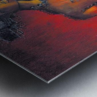 Red Massai Impression metal