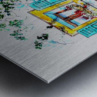 PTS - My House Metal print