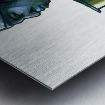 La marchande Metal print