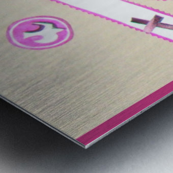 emerveillement1 Metal print