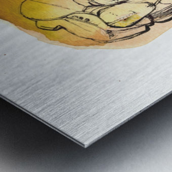 Kreol maghribia_1 Metal print