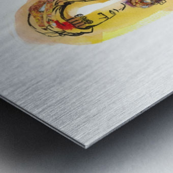 Kreol maghribia_5 Metal print