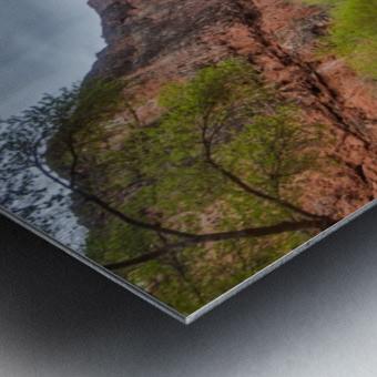 Miles Away From Ordinary Metal print