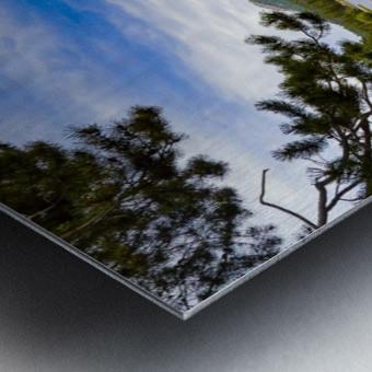 Sprague Lake Metal print