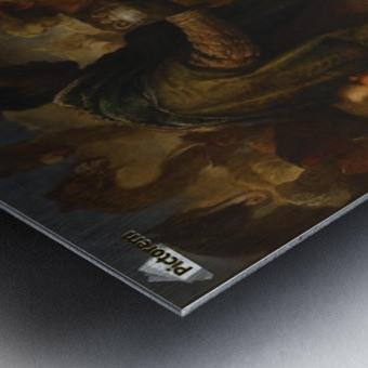 The Adoration of the Magi Metal print