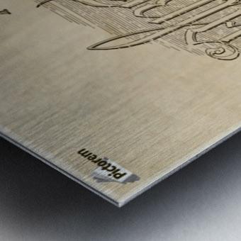 Albrecht Durer Ambigram Metal print