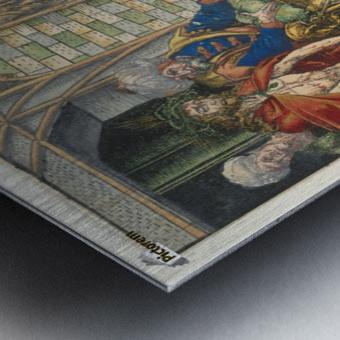 Here is Christ Metal print