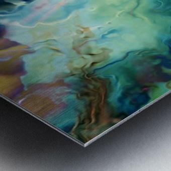 Color Galaxy 20 Metal print