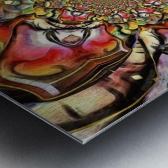 Abstract Fractal Metal print