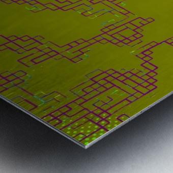 Abstract 5 Metal print