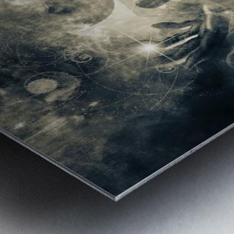 Mystical Priests Metal print