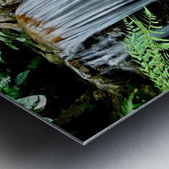 LIttle Hong Kong Park Waterfall Metal print