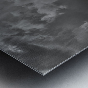 Night Shapes Metal print