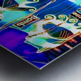 neon babe Metal print
