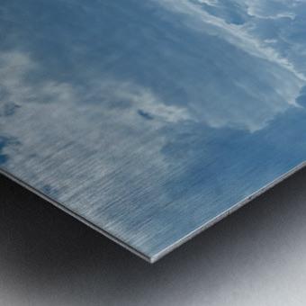 Infrared River Metal print