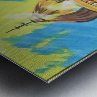 Ahson_Qazi_Geometrical_Islamic abstract artahson_qaziShades_of_DivinityIslamic_Artstretched canvass 12x16 Metal print
