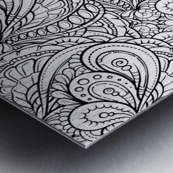 Fluidity 3 Metal print