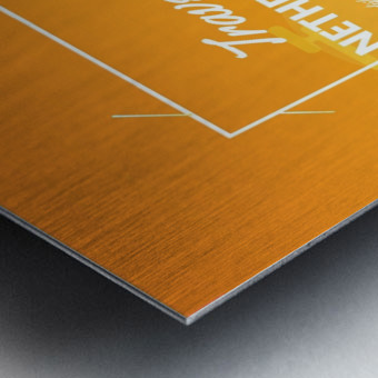 Travel To Netherlands Metal print
