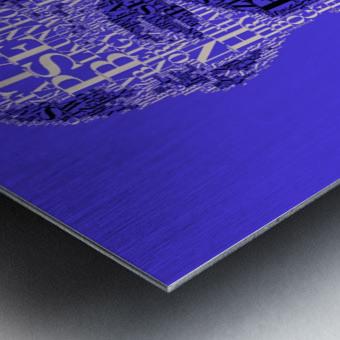 Louis Amstrong Metal print