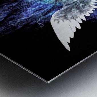 Wings Painting Metal print