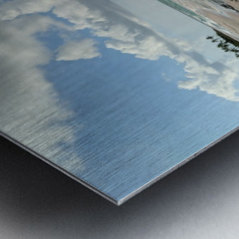 Eleuthera Deserted Beach Metal print