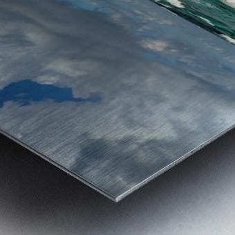 Eleuthera Endless Waves Metal print