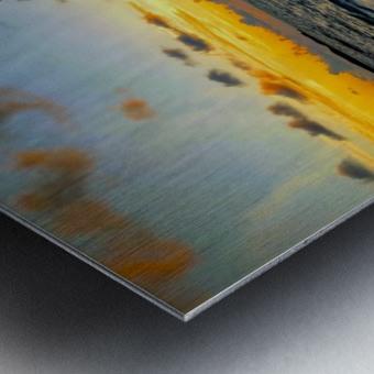 Eleuthera suds and sand Metal print