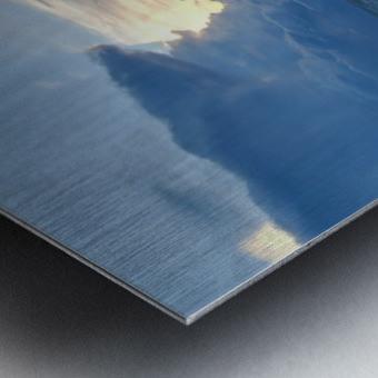 Eleuthera Sun Ray 2 Metal print