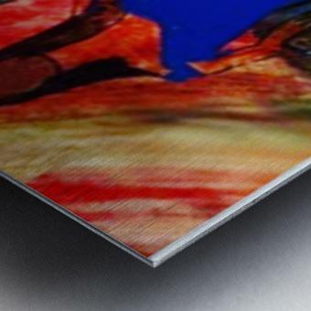 Hour glass Metal print