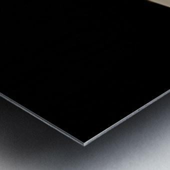 Crystalline Floret Metal print