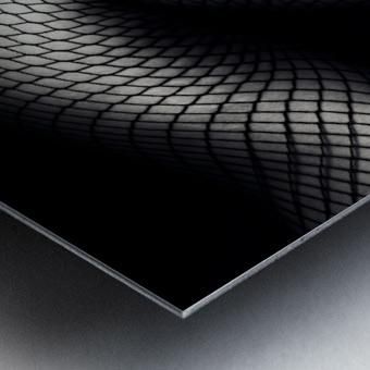 Legs in Fishnet Stockings 2 Metal print