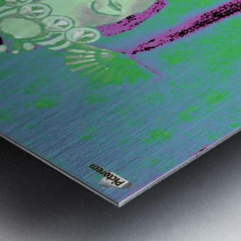 RÚ--in Green Metal print