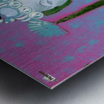 RÚ--in Turquoise Metal print