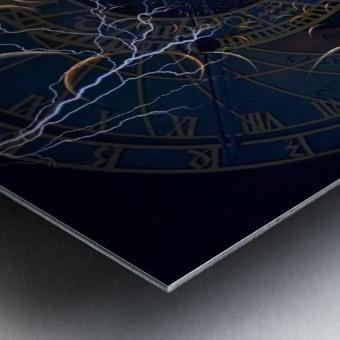 Zodiac Time Metal print
