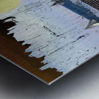 Les voiliers de Porto Metal print