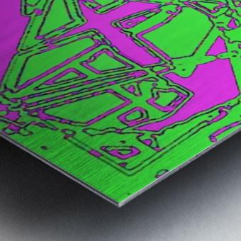 Talis Metal print