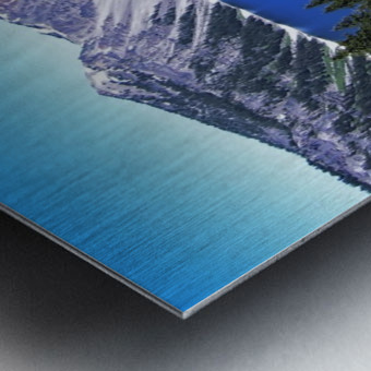 Crater Lake Oregon Metal print