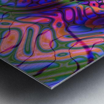 Acid_Jungle_Trip_9 Metal print
