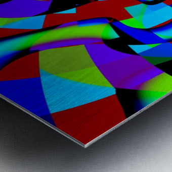 Jazz_Fusion_Series_1 Metal print
