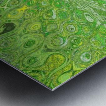 Butterfly in Crystal 70 Metal print
