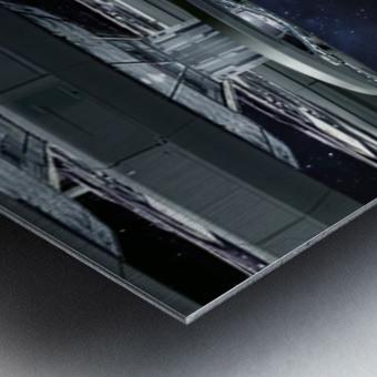 Shuttle104 Metal print
