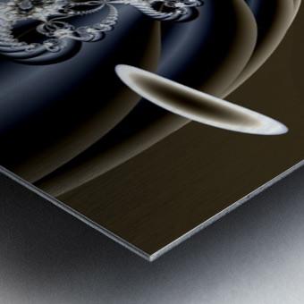 Installation Metal print
