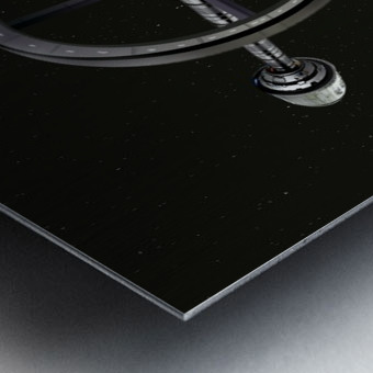 Starship Radial Alliance Metal print