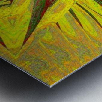 A Flower in the Wind 1 Metal print