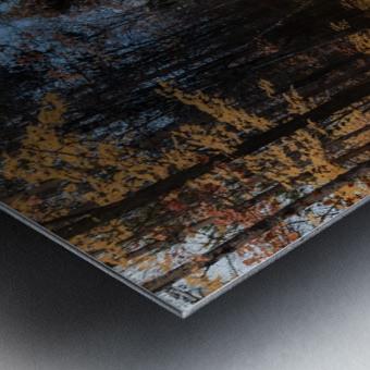 Tapis de feuille Impression metal