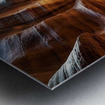 Upper Antelope Canyon 9 Metal print