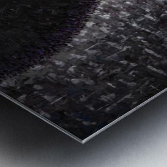Purple Transcendence Metal print