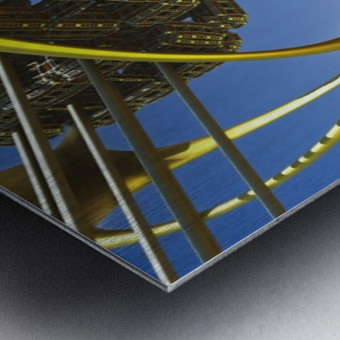 Vogazim by Jean-Francois Dupuis  Metal print
